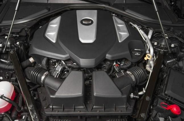 2021 Cadillac CT8 Engine