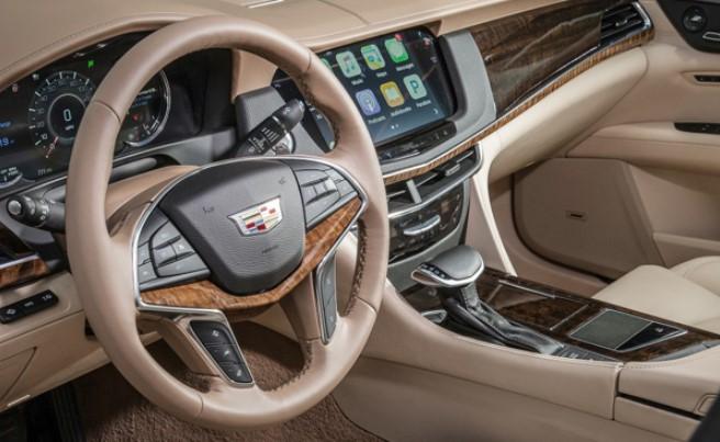 2021 Cadillac CT8 Interior