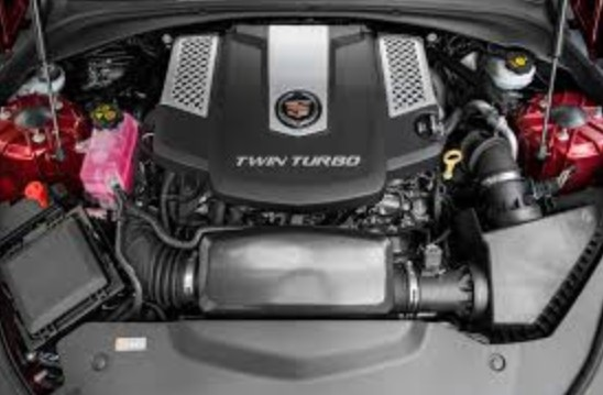 2019 Cadillac CTS V Coupe Engine