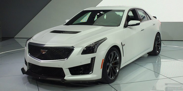 2019 Cadillac CTS V Coupe Exterior