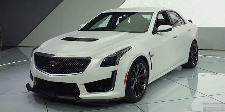 2019 Cadillac Cts Exterior