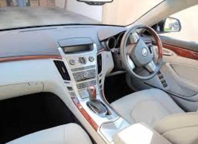 2019 Cadillac CTS V Coupe Interior