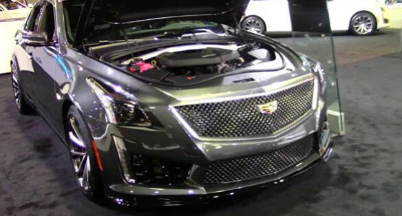 2019 Cadillac CTS V Engine