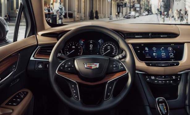 2020 Cadillac SRX Interior
