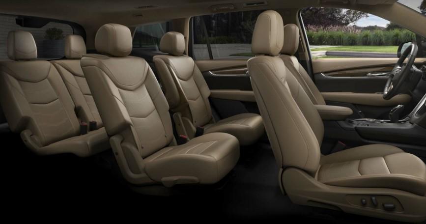 2021 Cadillac XT6 Interior