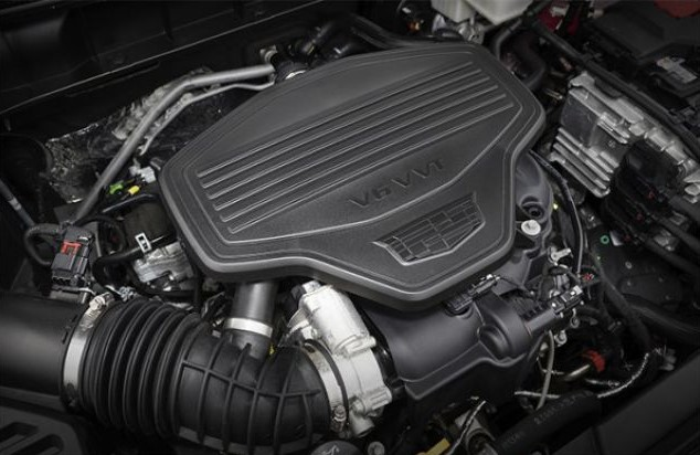 2021 Cadillac XT7 Engine