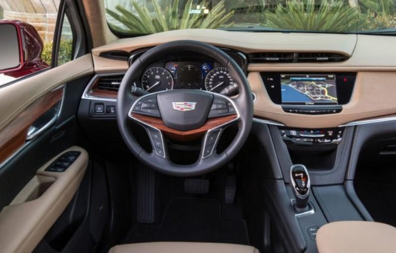 2021 Cadillac XT7 Interior