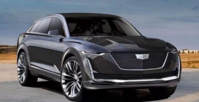 2021 Cadillac XT9 Exterior
