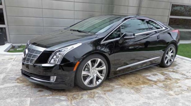 2021 Cadillac ELR Exterior